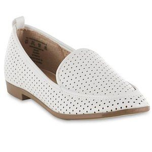 Simply Styled Women's Perry Loafer - White Size 11